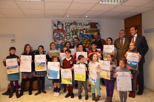 Premios de piintura infantil de Asaja-Sevilla y Fundación Caja Rural del Sur.