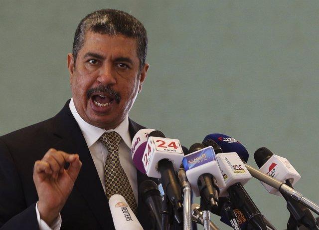 El primer ministro y vicepresidente de Yemen Jaled Bahá