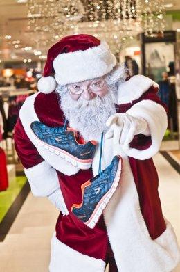 Papá Noel promociona la Carrera de Papá Noel