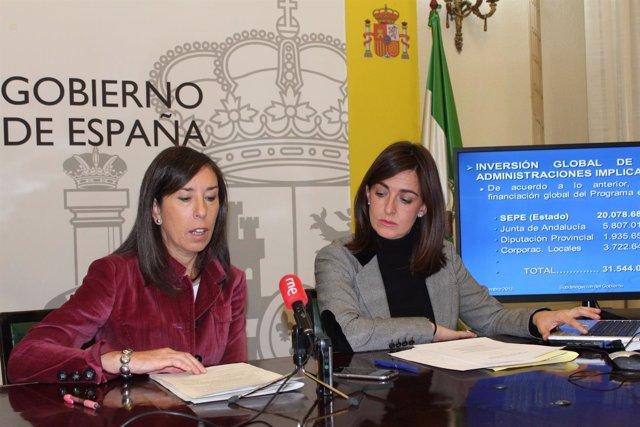 Rueda de prensa en Granada sobre la generación de empleo PFEA.