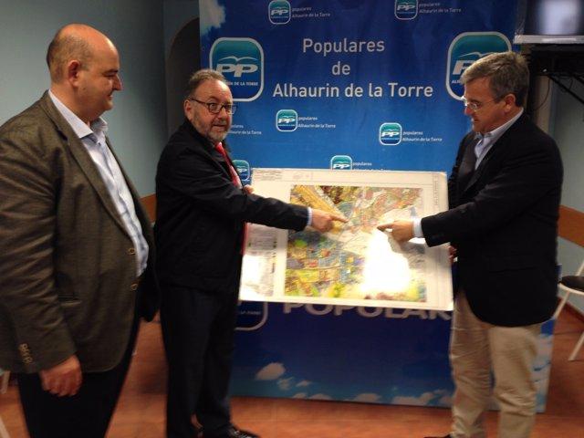 García Urbano PP en Alhaurín de la Torre
