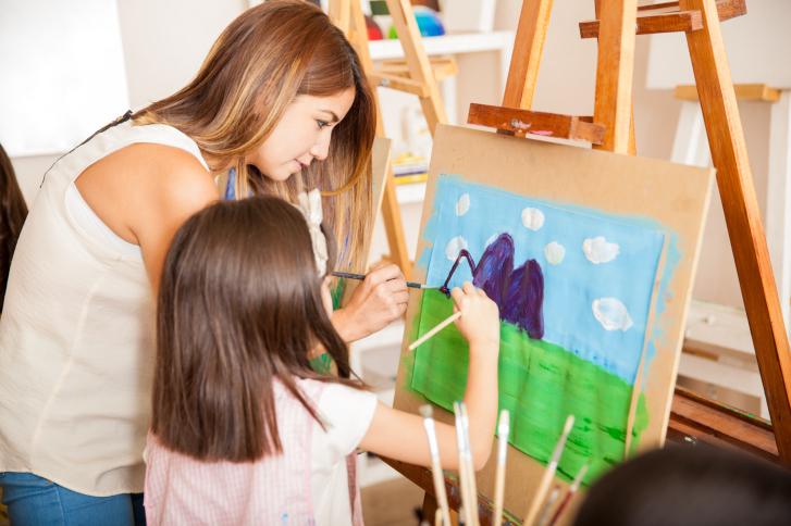 Artes visuales para los niños
