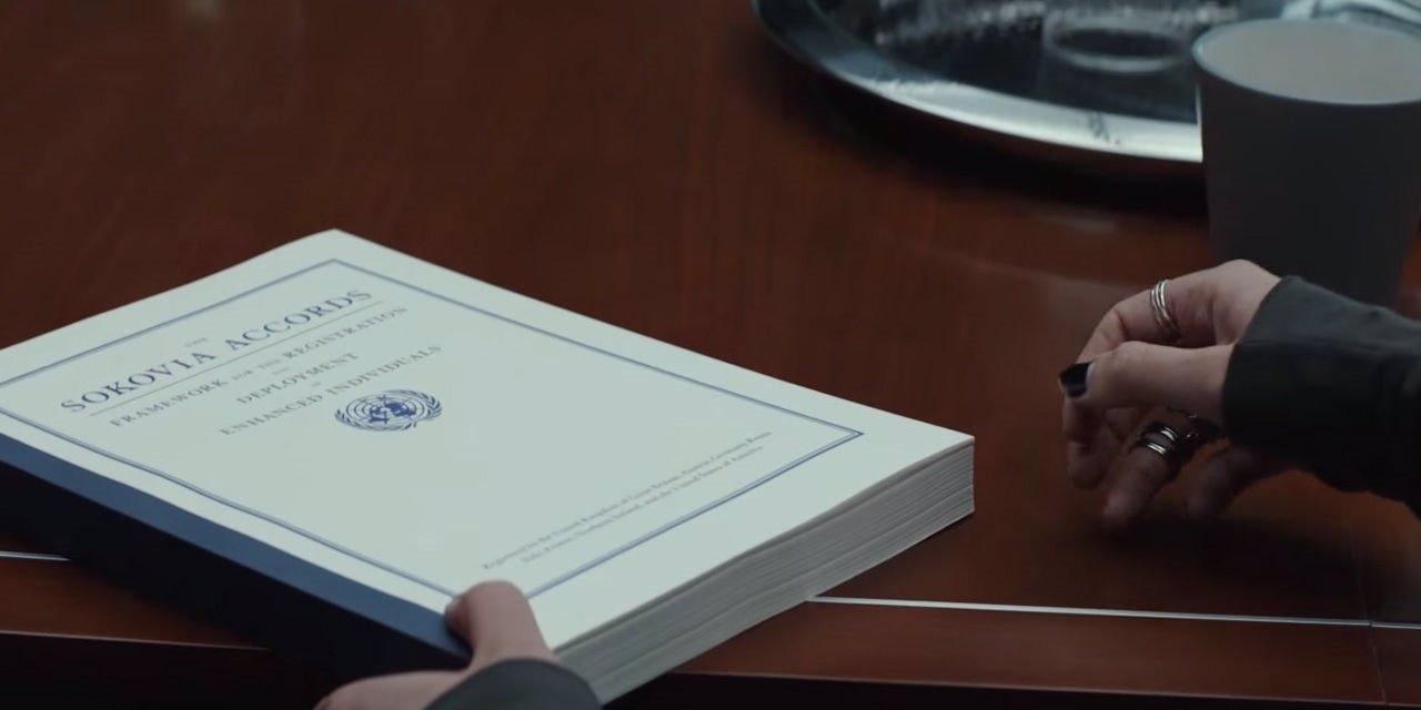 Acuerdos de Sokovia, Capitán América: Civil War
