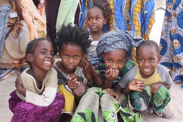 Niños, infancia, África