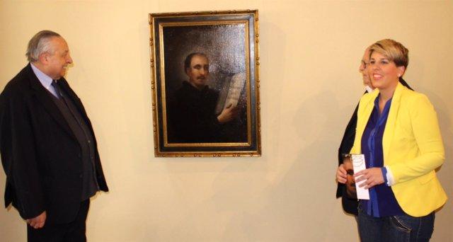Presentación del cuadro de Goya que se expondrá en el Mubam