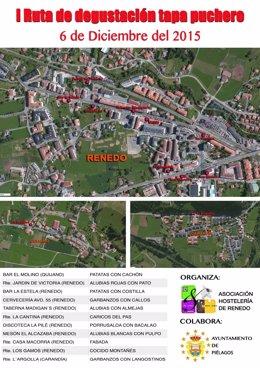 Cartel de la ruta