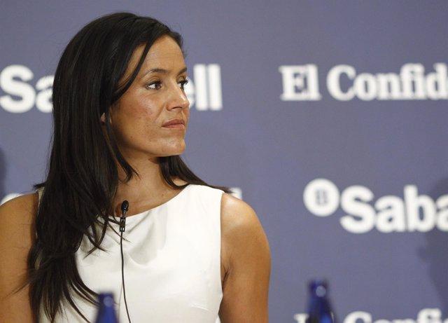 Begoña Villacís en el foro La España de los pactos