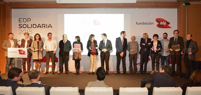 Entrega de los premios 'EDP Solidaridad 2015'