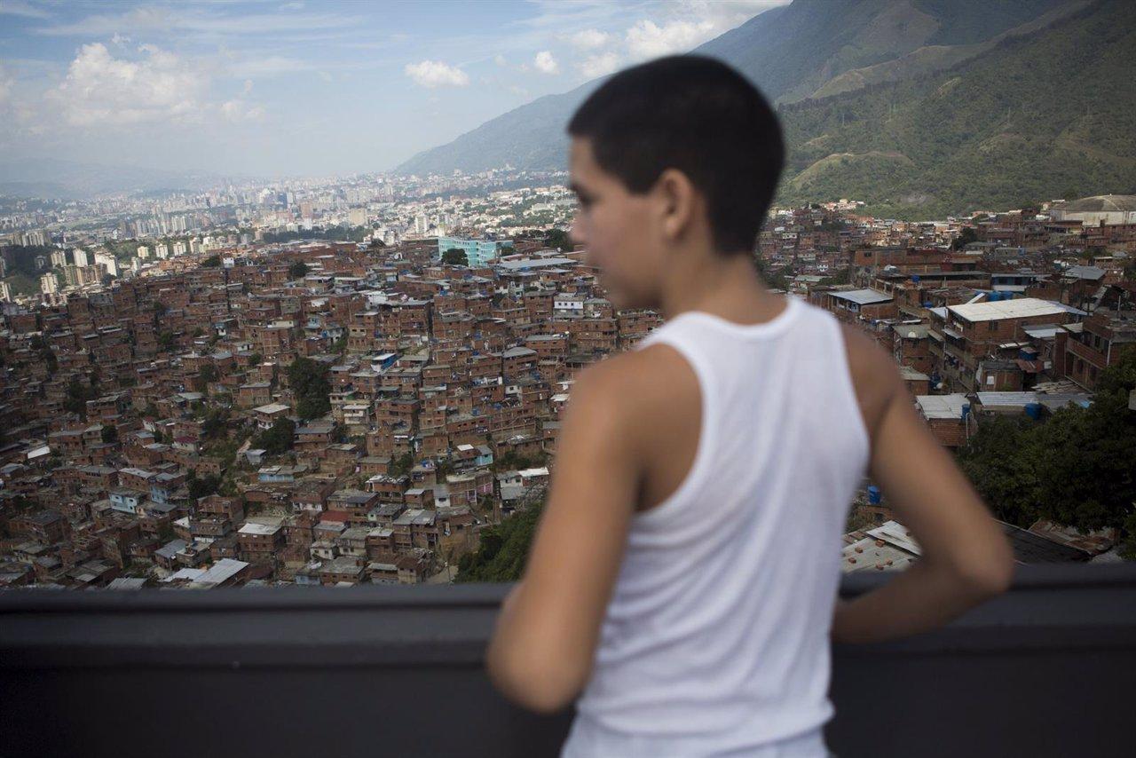 Un niño de Venezuela