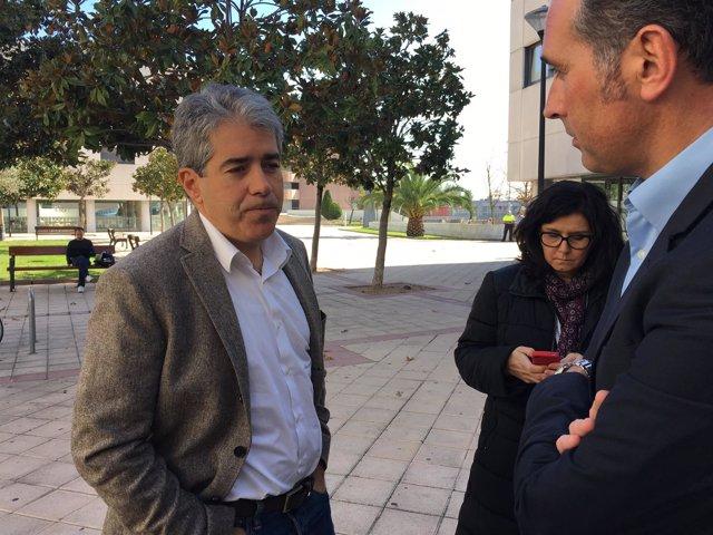 Francesc Homs, tras el consell nacional de CDC en Bellaterra