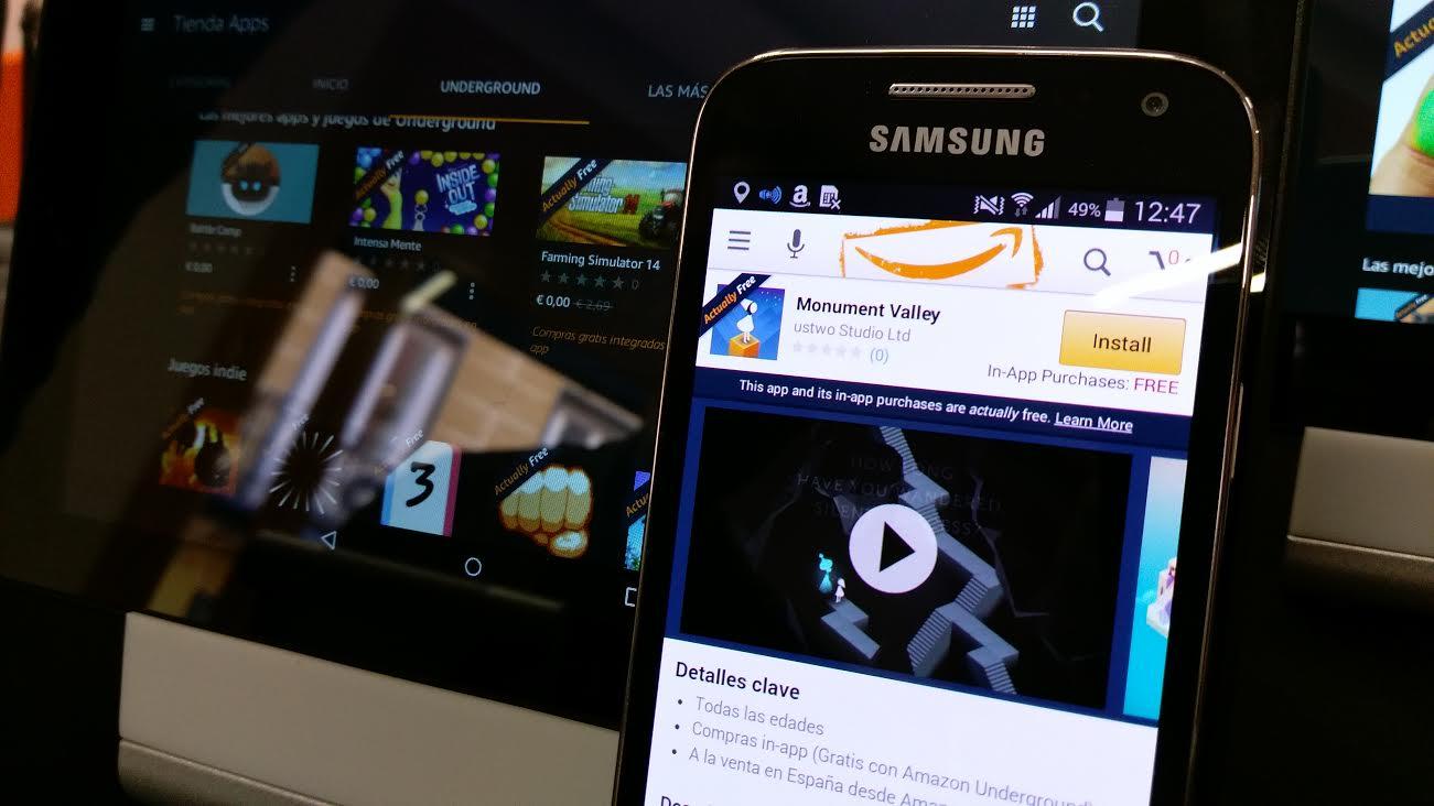 Amazon Underground Llega A Espana Descarga Gratis Juegos Y Apps