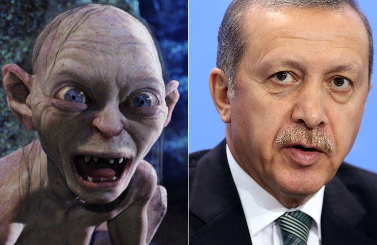 Erdogan y Gollum