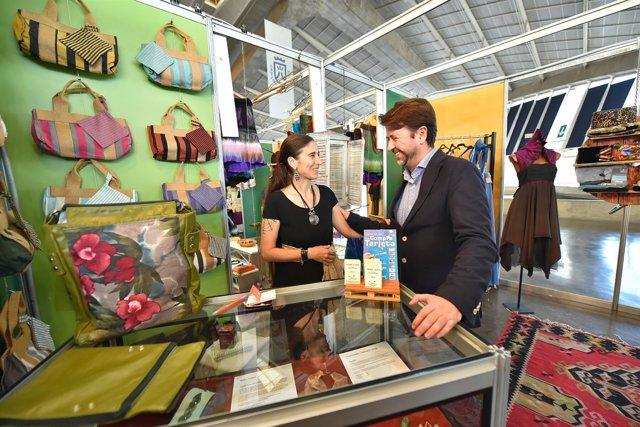 Carlos Alonso inaugura la Feria de Artesanía de Canarias