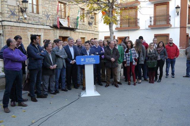 Acto de inico de campaña del PP de Jaén.