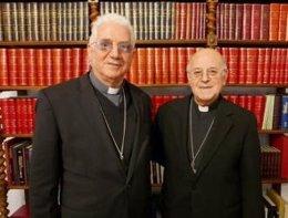Blázquez recibe al presidente de la Conferencia Episcopal Cubana