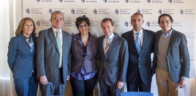 Pérez Quislant y Butragueño, entre los firmantes del convenio