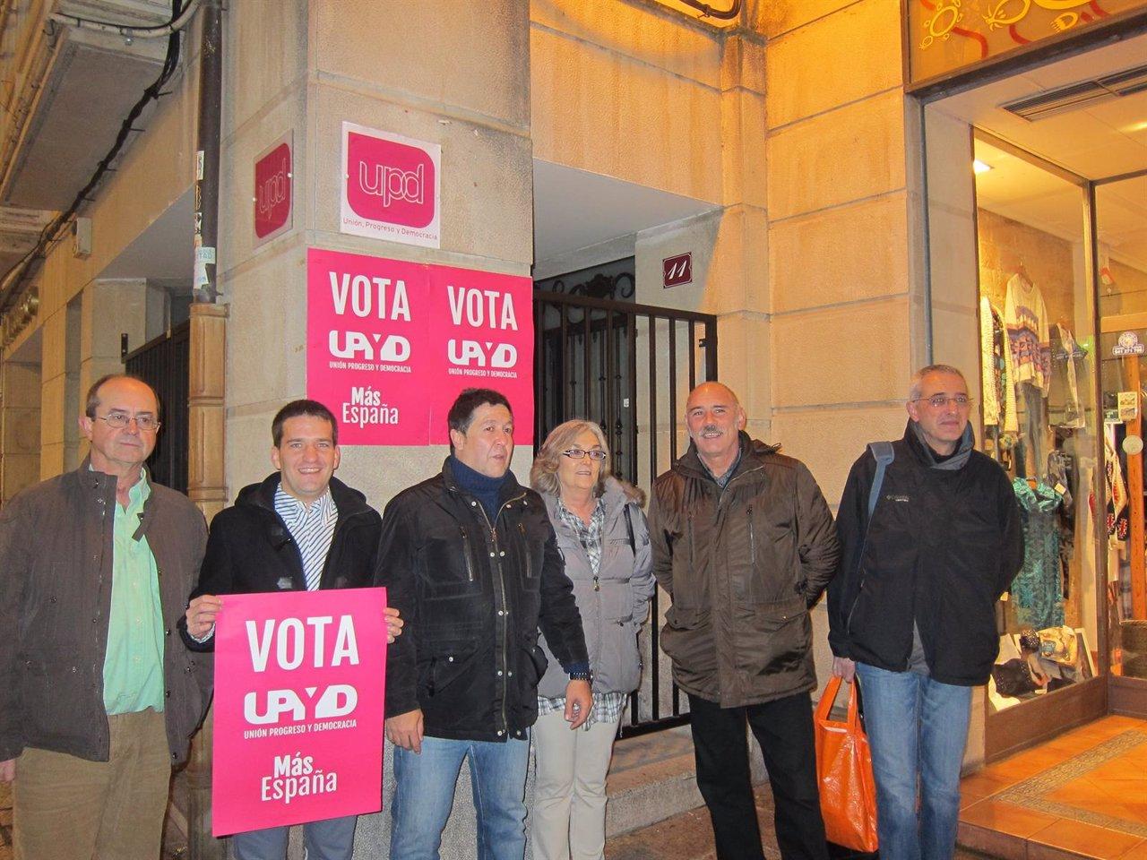 Arranque campaña electoral UPyD La Rioja