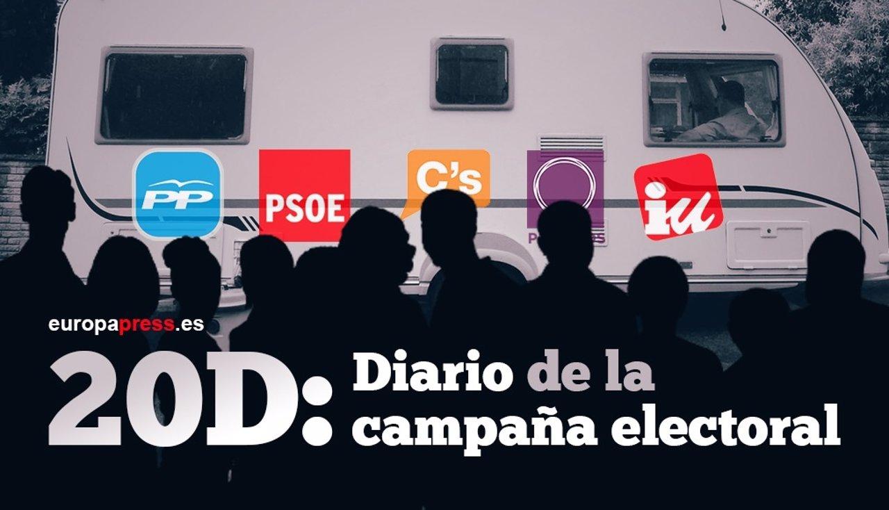 Diario de la campaña electoral
