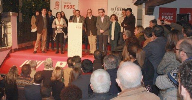 Apertura de campaña del PSOE de Huelva