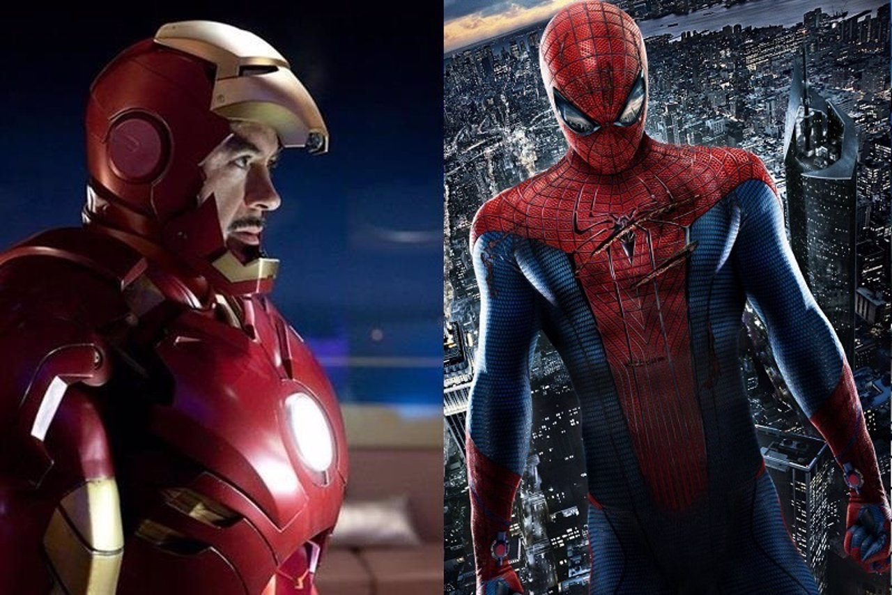 Iron Man y Spiderman