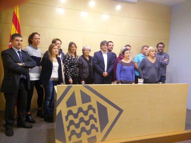 Los Partidos Independentistas De Girona Se Ratifican En El Apoyo A La Resolución