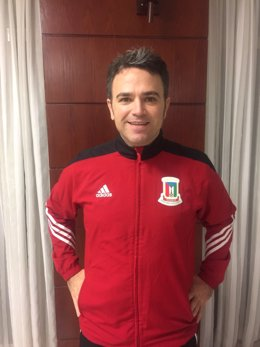 Ricardo Íñiguez, seleccionador de fútbol sala de Guinea Ecuatorial