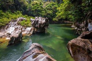 parque natural Río Claro Colombia