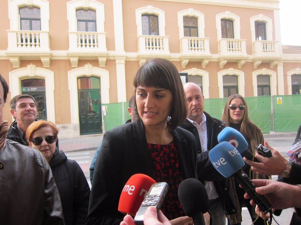 La cabeza de lista del PSOE al Congreso de los Diputados por Murcia