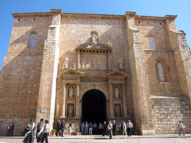 Basílica de Santa María de Daroca (Zaragoza).