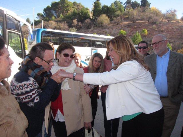 Susana Díaz en Rute (Córdoba)