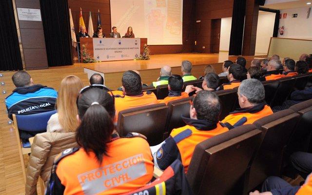 NP XORNADA PROTECCIÓN CIVIL: González Formoso Agracede O Traballo Dos Voluntario