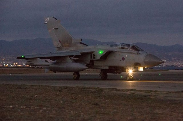 Caza de la Real Fuerza Aérea británica (RAF)