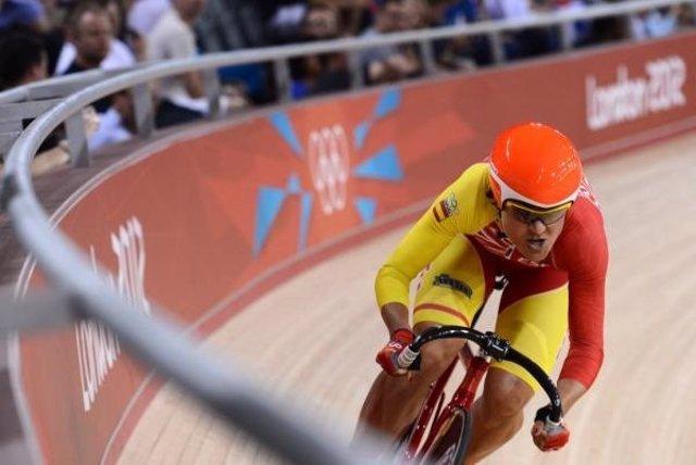 Leire Olaberria ciclismo pista omnium Copa Mundo
