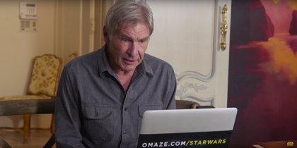 Harrison Ford destripa en Twitter una escena clave de Star Wars 7
