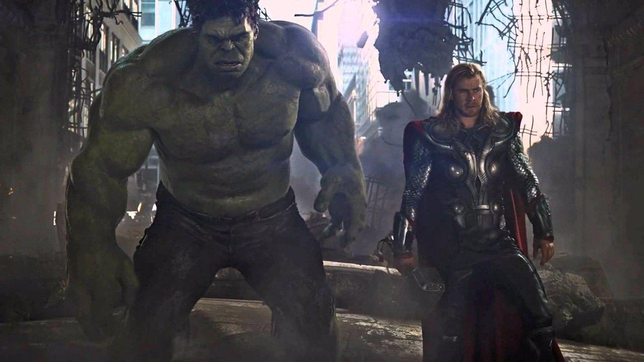 Thor y Hulk