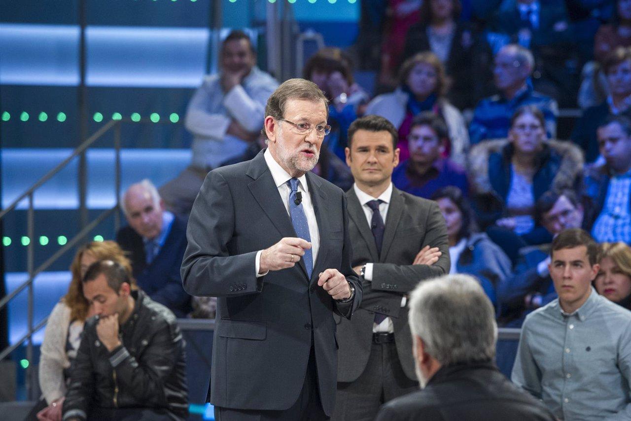 Mariano Rajoy en La Sexta Noche