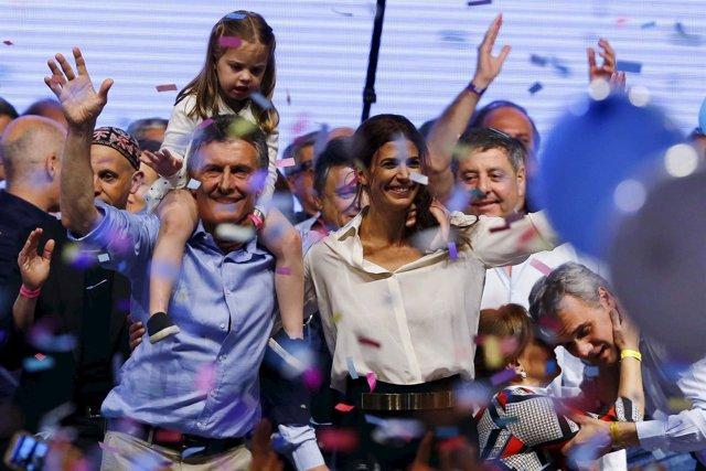 Mauricio Macri, ganador de las presidenciales en Argentina