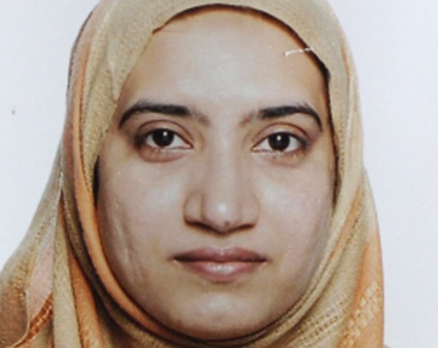 Tashfeen Malik is pictured in this undated handout photo