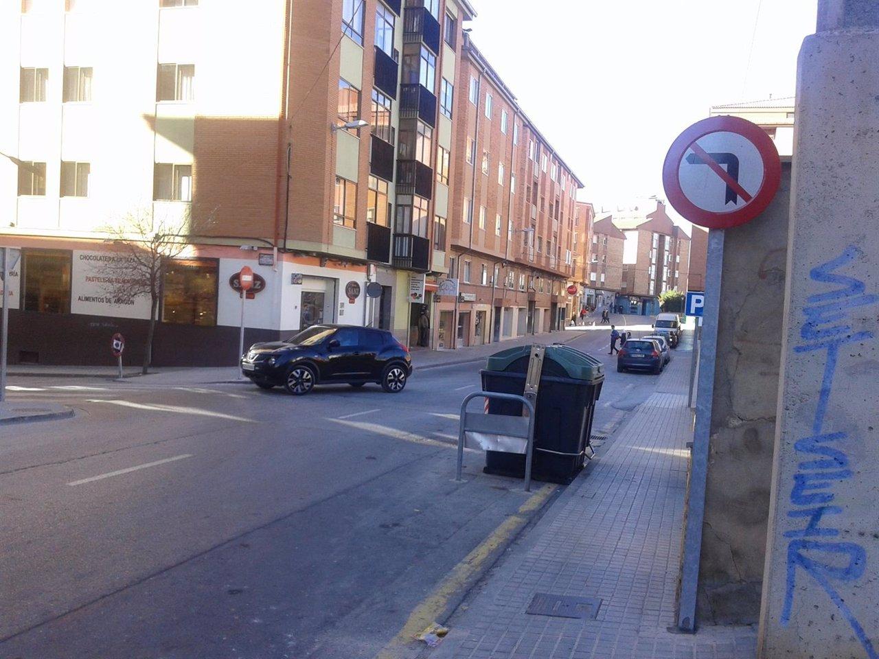 Cambia la circulación en la calle Río Duero de Teruel