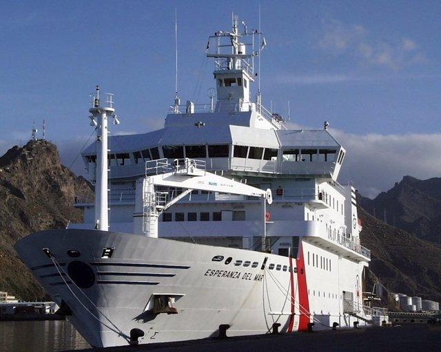 Buque hospital Esperanza del Mar
