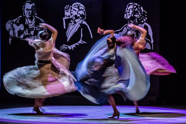 Escena del espectáculo 'Voces' de Sara Baras