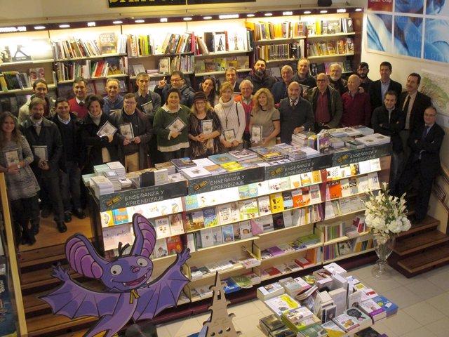 Participantes en el libro