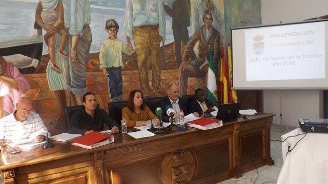 Equipo gobierno Rincón de la Victoria