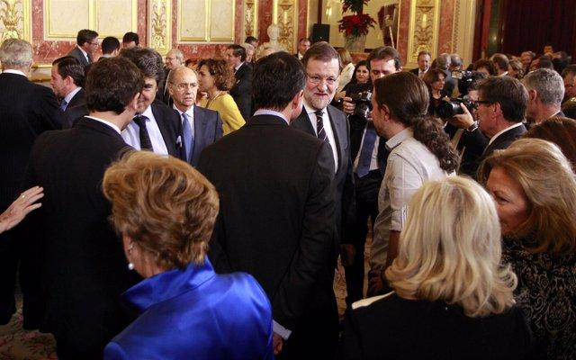 Mariano rajoy, pablo Iglesias, Herzog, Albert Rivera, Pedro Sánchez, Congreso