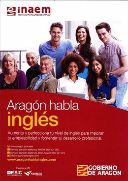 El programa 'Aragón habla Inglés' del INAEM.