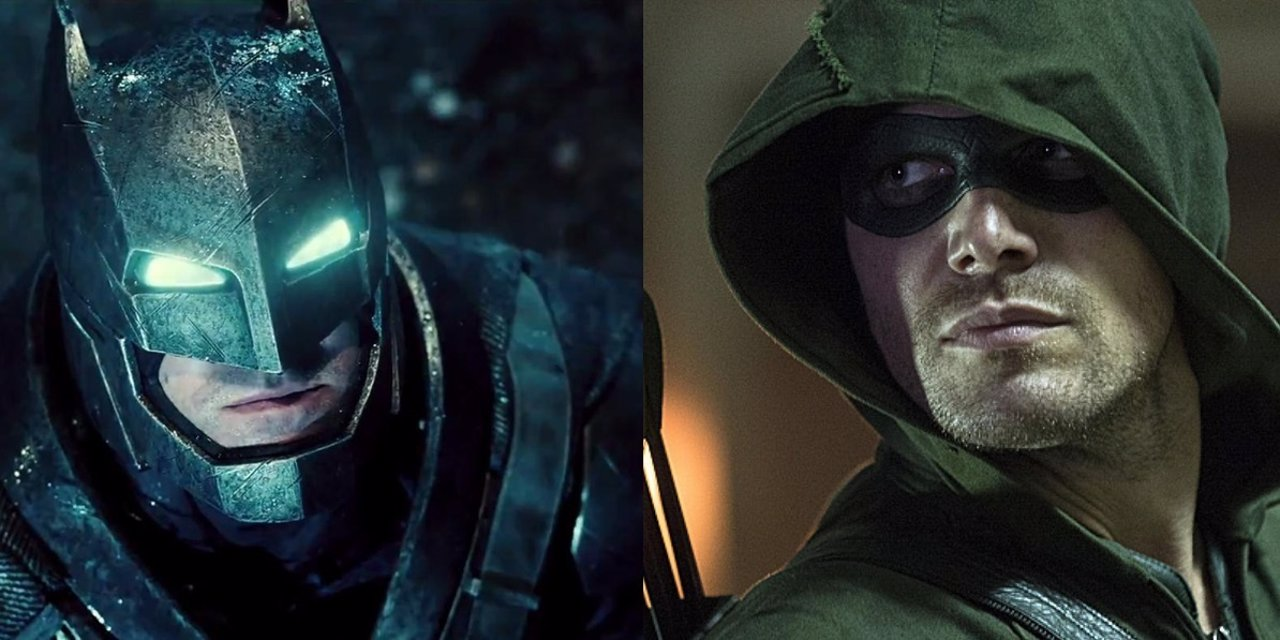 Batman y Arrow Stephen Amell