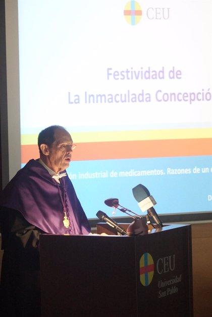 Un profesor del CEU pide un cambio en la fabricación de medicamentos en España