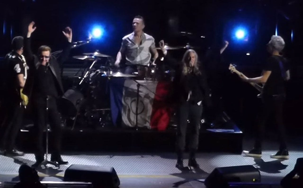U2 Y PATTI SMITH EN PARÍS