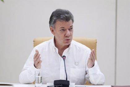 """Santos aboga por un diálogo """"constructivo"""" entre el Gobierno y el nuevo Parlamento venezolano"""