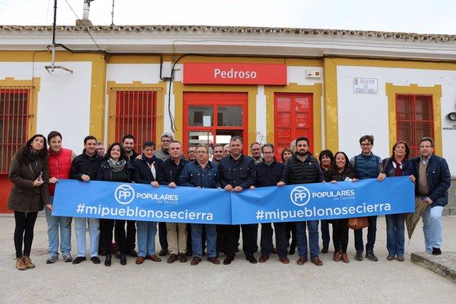 Acto del PP en El Pedroso
